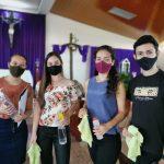 Jóvenes católicos, mantienen su fe en media pandemia y recuerdan a la mujer el camino de la santidad