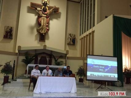 Palabras del Padre Elí Quirós en lanzamiento del Web Site