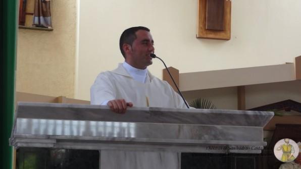 Agradecimiento del Diác. Jesús Rafael en su ordenación