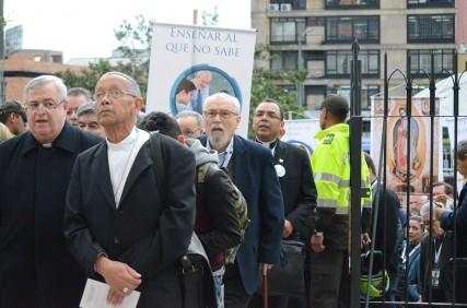 Peregrinación por las calles de Bogotá, en el Jubileo Continental de la Misericordia
