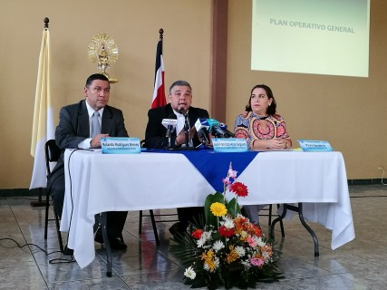 Todo listo para celebración a la Patrona de Costa Rica