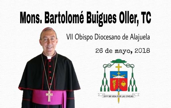 Diócesis de Alajuela tiene nuevo pastor diocesano