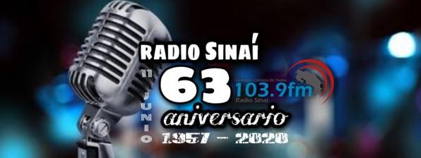 Radio Sinaí cumple 63 años