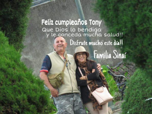 Feliz cumpleaños Don Tony Méndez