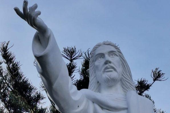 Inauguran y bendicen réplica del Príncipe de la Paz